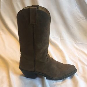 Durango Distressed Cowgirl Boots Brown 7W